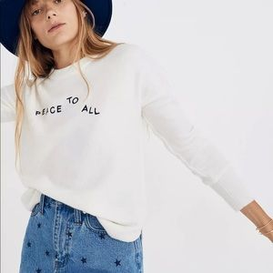 Madewell | Peace To All Westlake Pullover Coziest
